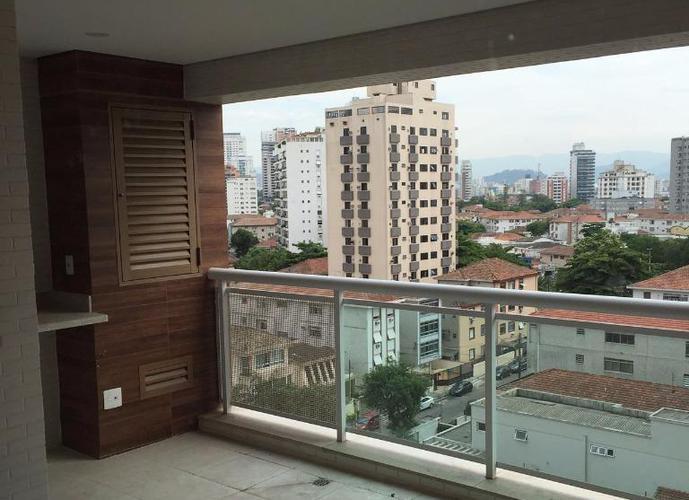Apartamento em Ponta Da Praia/SP de 77m² 2 quartos a venda por R$ 525.670,00