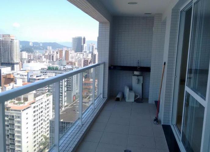 Apartamento em Gonzaga/SP de 80m² 2 quartos a venda por R$ 749.900,00