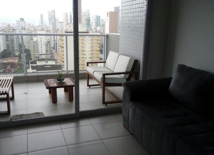 Apartamento em Gonzaga/SP de 80m² 2 quartos a venda por R$ 730.000,00