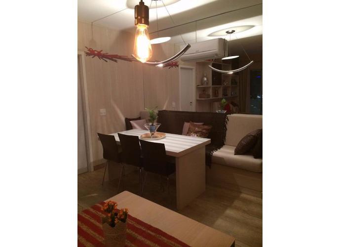 Apartamento em Santo Amaro/SP de 50m² 1 quartos para locação R$ 5.490,00/mes