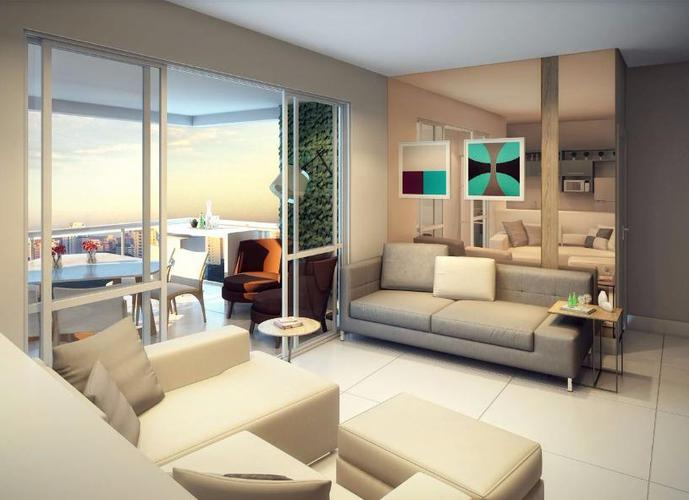 Apartamento em Indianópolis/SP de 76m² 2 quartos a venda por R$ 940.000,00