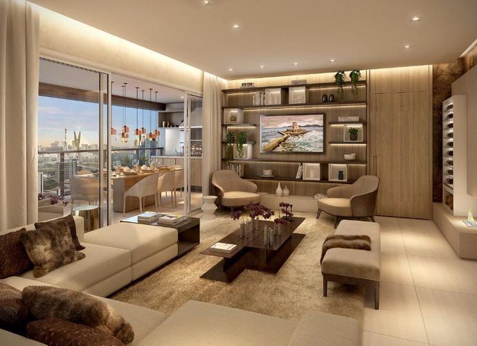 Apartamento em Vila Gertrudes/SP de 132m² 3 quartos a venda por R$ 1.508.000,00