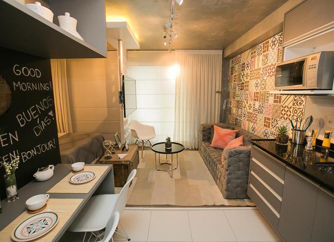 Studio em Alto De Pinheiros/SP de 32m² 1 quartos a venda por R$ 397.890,00