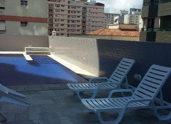 Apartamento em Gonzaga/SP de 84m² 2 quartos a venda por R$ 683.000,00