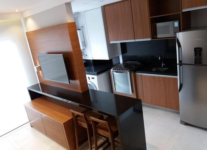 Apartamento Duplex em Gonzaga/SP de 60m² 1 quartos a venda por R$ 650.000,00