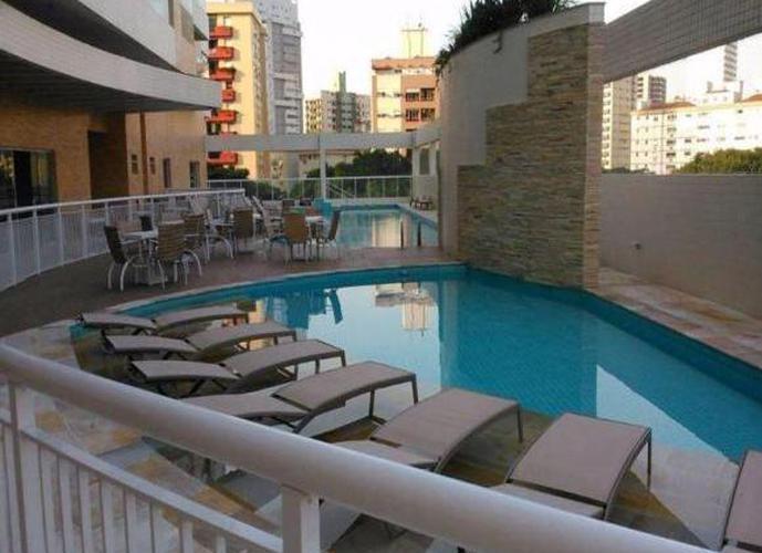 Apartamento em Gonzaga/SP de 111m² 2 quartos a venda por R$ 800.000,00