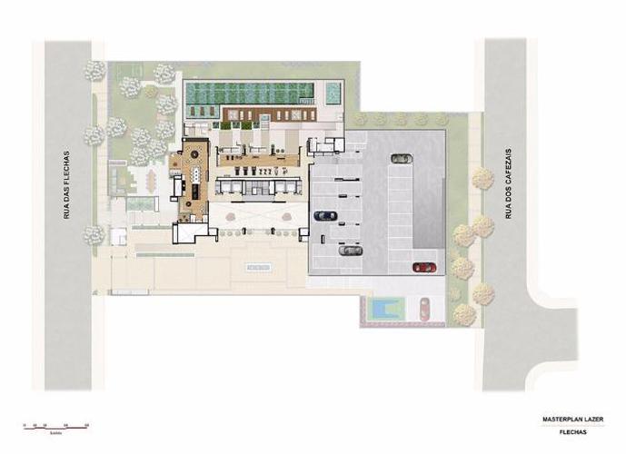 Apartamento em Vila Santa Catarina/SP de 64m² 2 quartos a venda por R$ 429.890,00