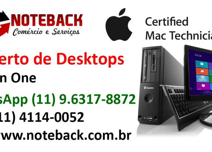 Formatação Notebook Desktop All in One