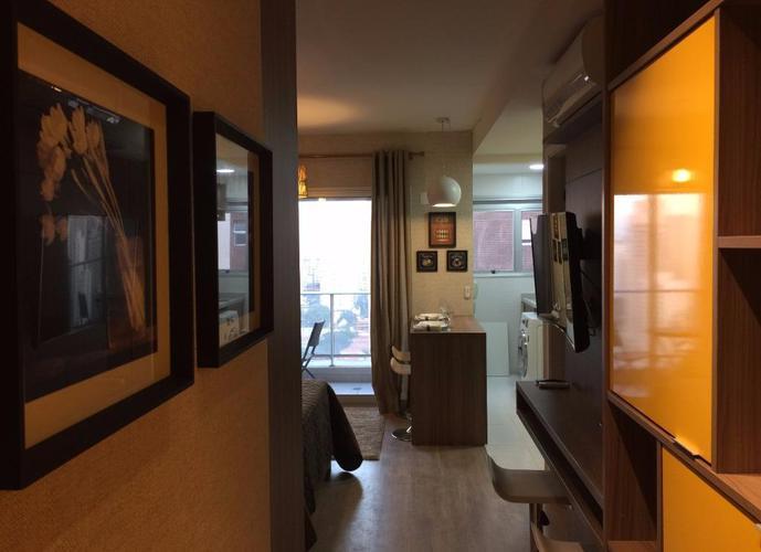 Apartamento em Cidade Monções/SP de 33m² 1 quartos a venda por R$ 540.000,00