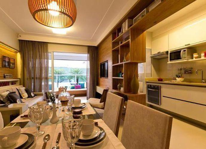 Apartamento em Ponta Da Praia/SP de 55m² 1 quartos a venda por R$ 298.000,00