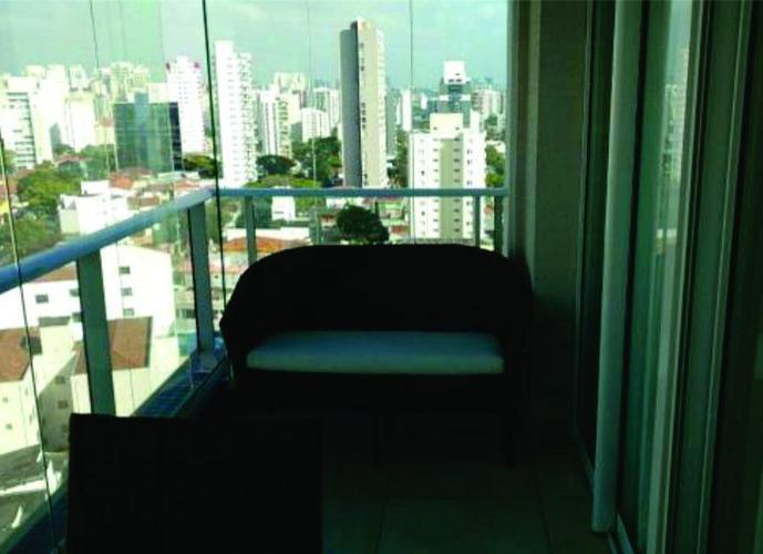 Apartamento em Campo Belo/SP de 49m² 1 quartos a venda por R$ 630.000,00