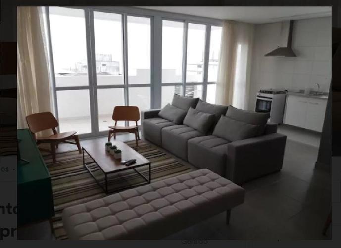 Apartamento Duplex em Gonzaga/SP de 171m² 3 quartos para locação R$ 10.000,00/mes