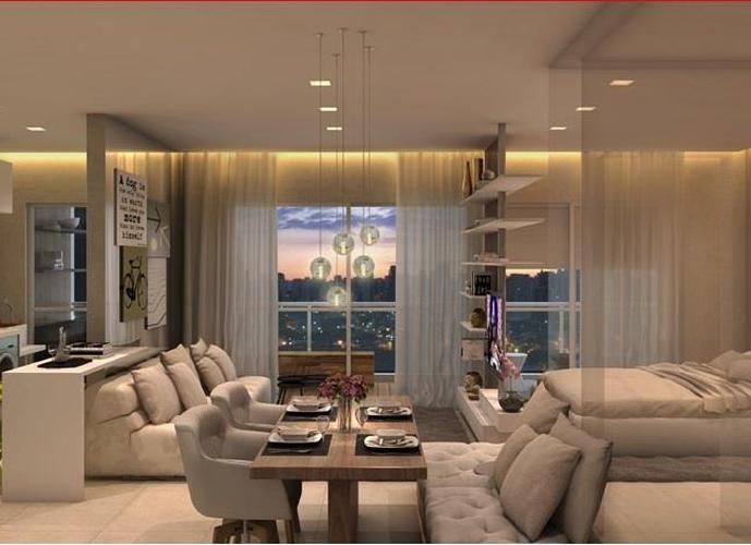 Studio em Gonzaga/SP de 26m² 1 quartos a venda por R$ 490.000,00