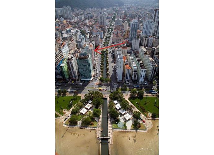 Apartamento em José Menino/SP de 72m² 1 quartos a venda por R$ 290.000,00
