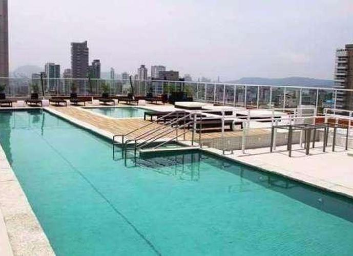 Apartamento em Gonzaga/SP de 80m² 2 quartos a venda por R$ 739.000,00