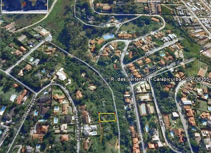 Terreno em Granja Viana/SP de 1378m² a venda por R$ 200.000,00