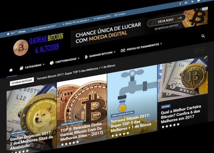 Ganhar Bitcoin & Altcoins
