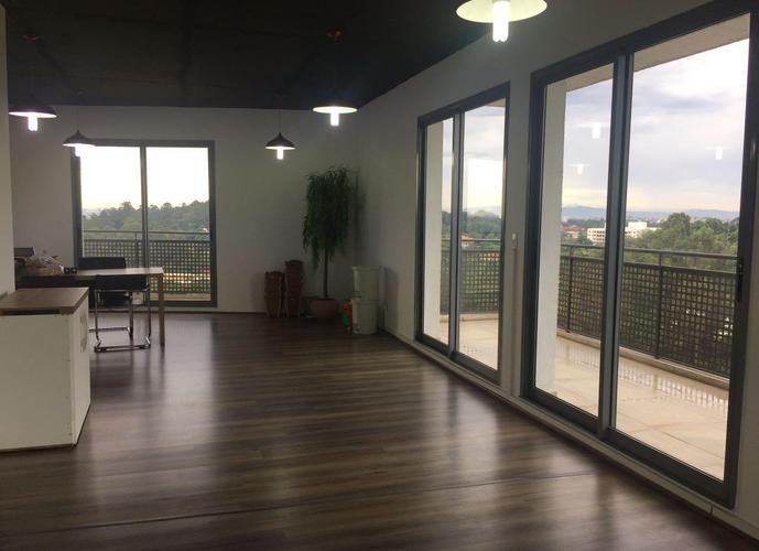 Sala em Granja Viana/SP de 90m² para locação R$ 3.182,00/mes