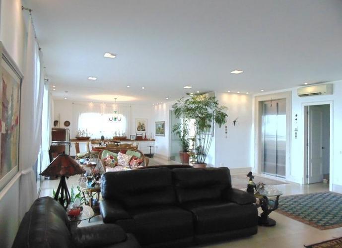 Apartamento em Gonzaga/SP de 410m² 3 quartos a venda por R$ 6.990.000,00