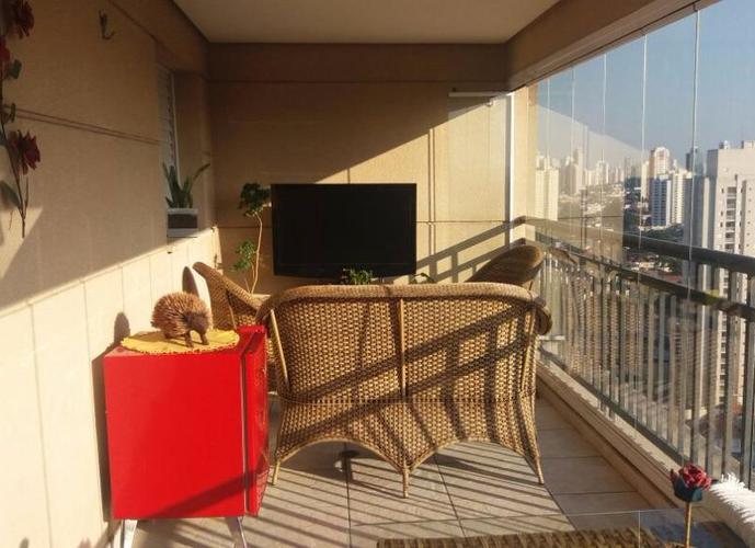 Apartamento em Tatuapé/SP de 130m² 3 quartos a venda por R$ 1.100.000,00
