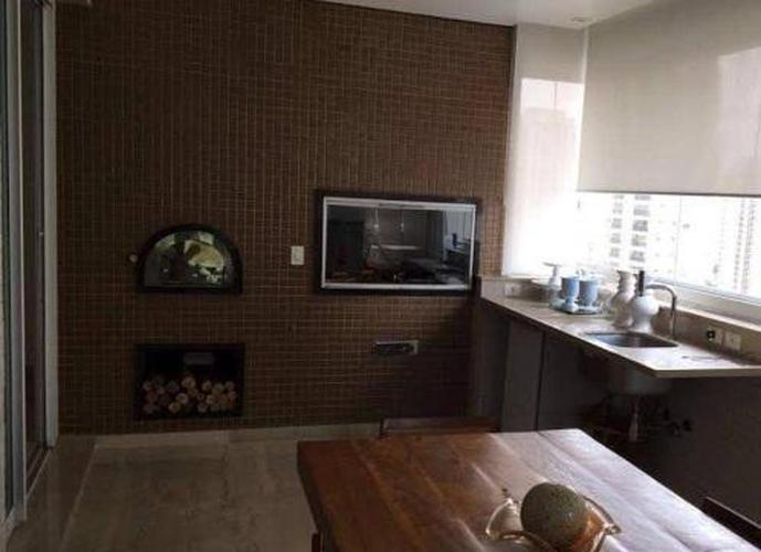 Apartamento em Jardim Anália Franco/SP de 335m² 4 quartos a venda por R$ 4.200.000,00