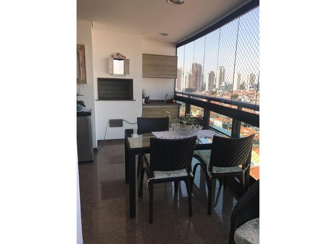 Apartamento em Tatuapé/SP de 171m² 4 quartos a venda por R$ 1.700.000,00
