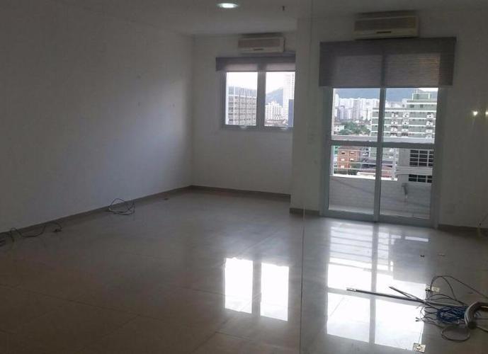 Sala em Vila Matias/SP de 54m² para locação R$ 2.000,00/mes