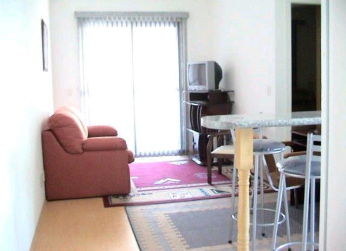 Apartamento em Brooklin Paulista/SP de 50m² 1 quartos para locação R$ 2.500,00/mes