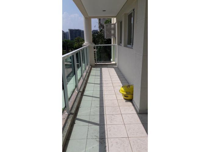 Apartamento em Barra da Tijuca/RJ de 122m² 3 quartos para locação R$ 4.000,00/mes