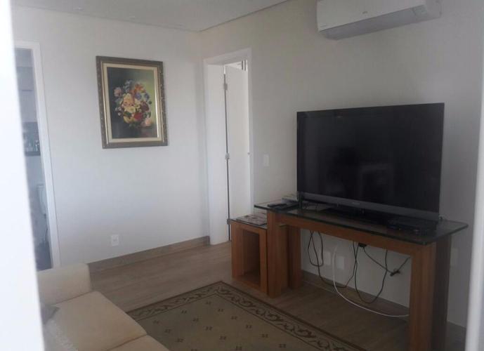 Apartamento em Gonzaga/SP de 80m² 1 quartos para locação R$ 1.000,00/dia