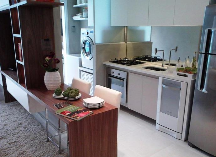 Apartamento em Gonzaga/SP de 57m² 1 quartos a venda por R$ 410.000,00