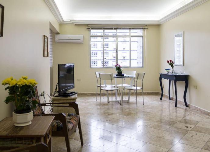 Apartamento em Gonzaga/SP de 113m² 2 quartos para locação R$ 1.900,00/mes