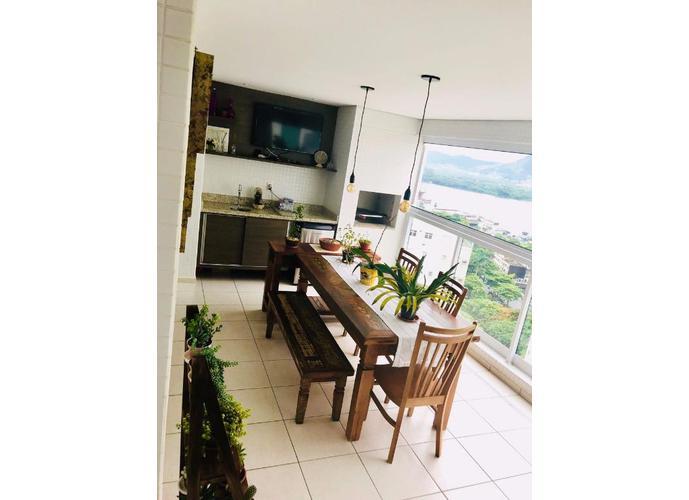 Apartamento em Ponta Da Praia/SP de 132m² 3 quartos a venda por R$ 970.000,00