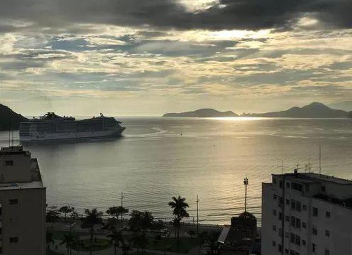 Apartamento em Ponta Da Praia/SP de 57m² 1 quartos a venda por R$ 555.000,00