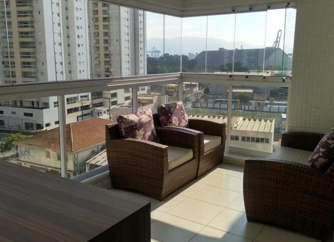 Apartamento em Ponta Da Praia/SP de 111m² 3 quartos a venda por R$ 680.000,00