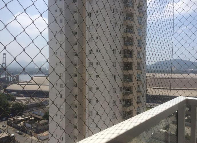 Apartamento em Ponta Da Praia/SP de 77m² 2 quartos a venda por R$ 475.000,00