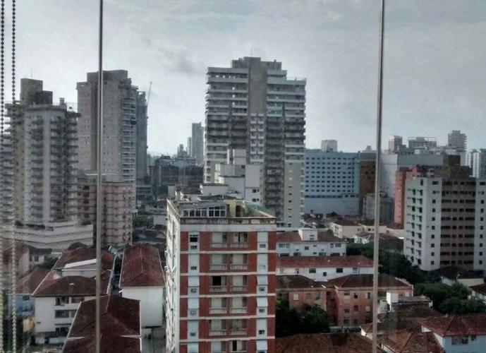 Apartamento em Gonzaga/SP de 98m² 2 quartos a venda por R$ 580.000,00