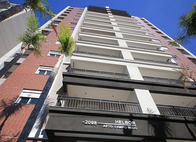 Apartamento em Campo Belo/SP de 42m² 1 quartos a venda por R$ 433.020,00