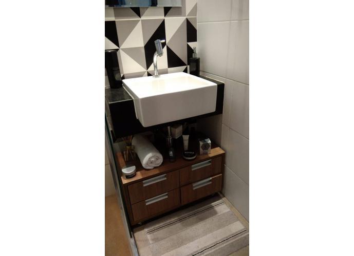 Apartamento em Gonzaga/SP de 62m² 1 quartos a venda por R$ 362.000,00