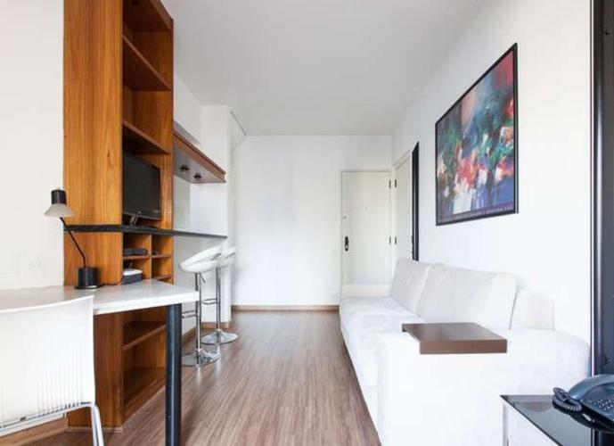 Flat em Itaim Bibi/SP de 47m² 1 quartos a venda por R$ 830.000,00