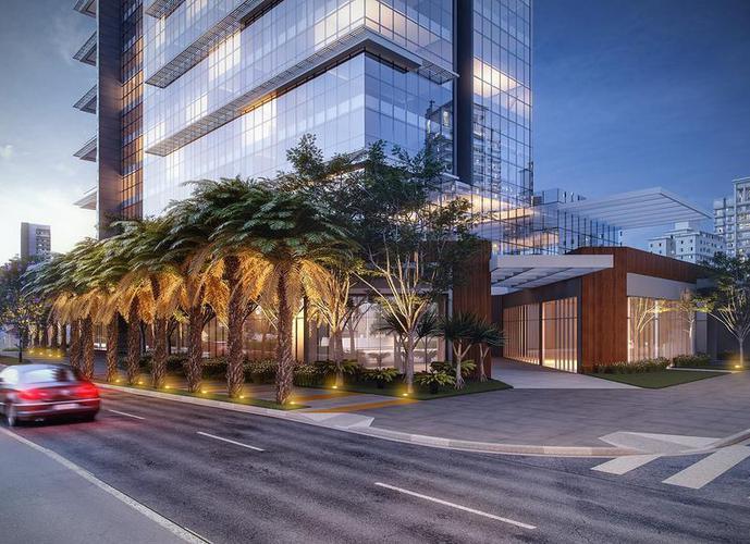 Apartamento em Pinheiros/SP de 30m² 1 quartos a venda por R$ 407.520,00