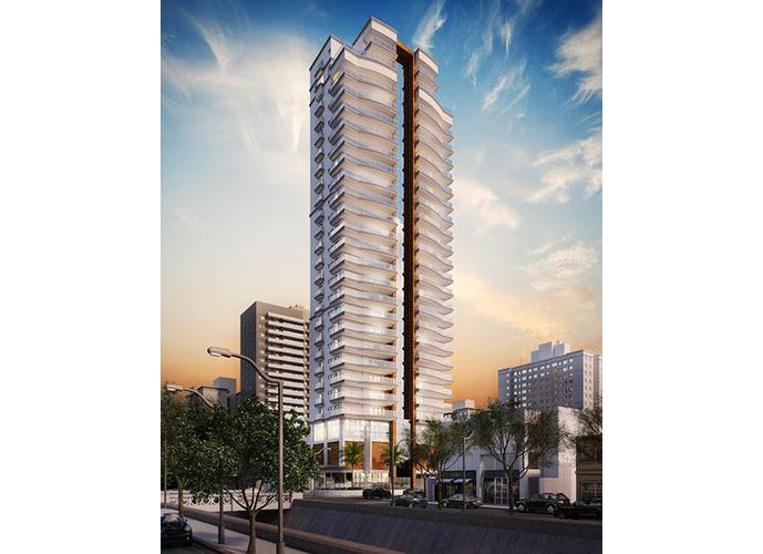 Apartamento em Embaré/SP de 164m² 3 quartos a venda por R$ 1.220.700,00