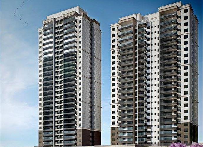 Apartamento em Chácara Santo Antônio (Zona Sul)/SP de 137m² 3 quartos a venda por R$ 1.418.057,00
