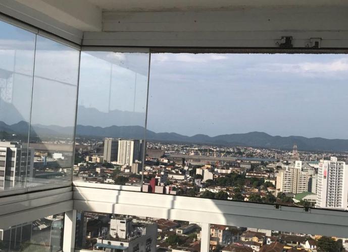 Apartamento em Vila Belmiro/SP de 96m² 3 quartos a venda por R$ 540.000,00