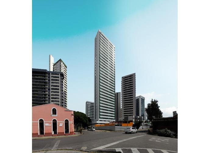 Apartamento em Casa Amarela/PE de 62m² 3 quartos a venda por R$ 378.000,00