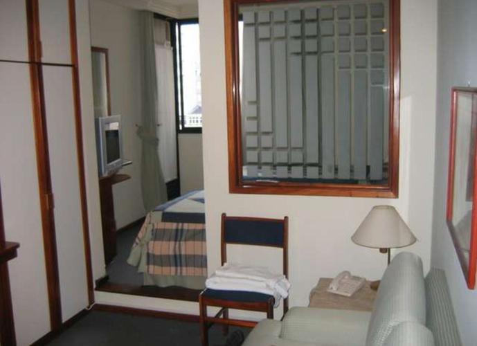 Flat em Jardins/SP de 28m² 1 quartos para locação R$ 1.700,00/mes