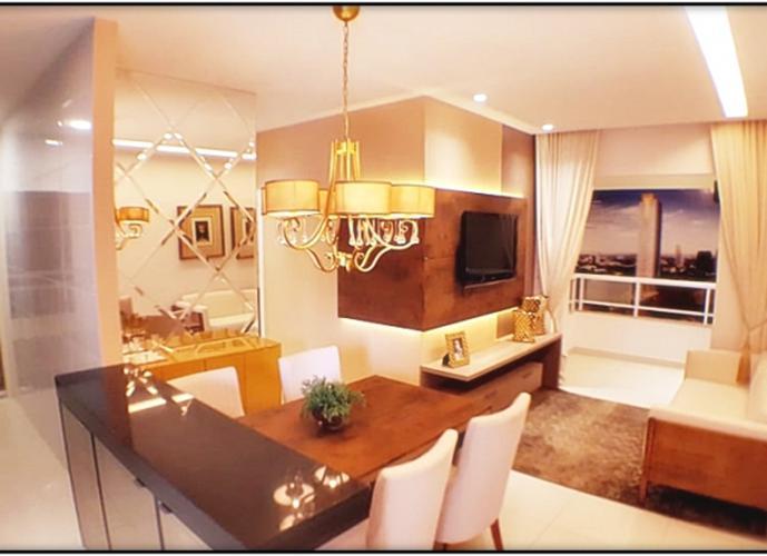 Apartamento em Plano Diretor Sul/TO de 66m² 2 quartos a venda por R$ 303.000,00