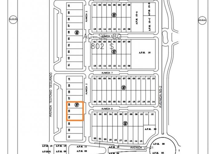 Terreno em Plano Diretor Sul/TO de 0m² a venda por R$ 700.000,00