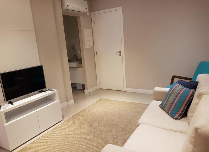 Apartamento em Gonzaga/SP de 45m² 1 quartos para locação R$ 3.200,00/mes