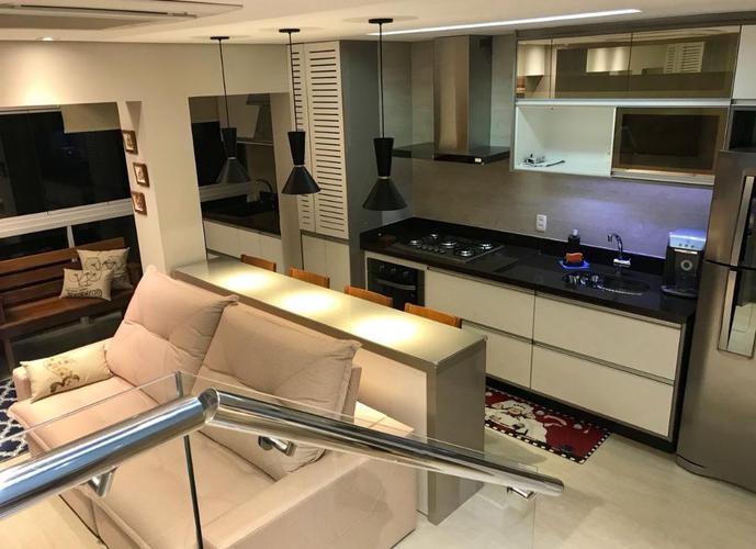 Apartamento Duplex em Gonzaga/SP de 60m² 1 quartos a venda por R$ 668.000,00